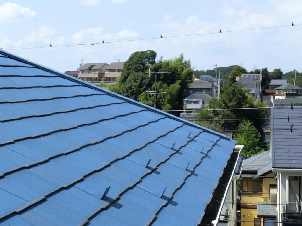 屋根のリフォームで 写真